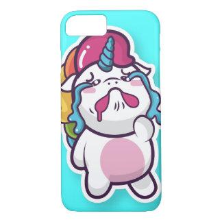 Coque iPhone 8/7 Linda capinah de cellulaire unicorne