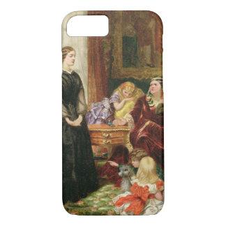 Coque iPhone 8/7 L'institutrice, 1860 (huile sur la toile)