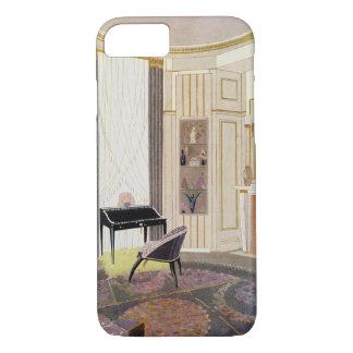 Coque iPhone 8/7 L'intérieur avec des meubles a conçu par Ruhlmann,