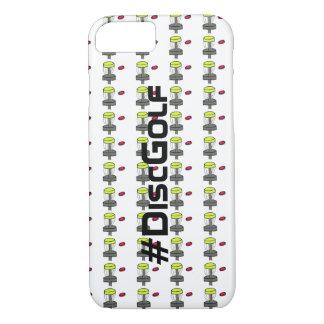 Coque iPhone 8/7 L'iPhone 7 de #DiscGolf ou couverture de téléphone