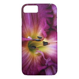 Coque iPhone 8/7 Lis de magenta d'Elizabeth Townsen