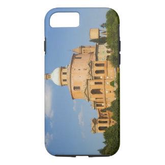 Coque iPhone 8/7 L'Italie, Bologna, jour ensoleillé avec Portico di