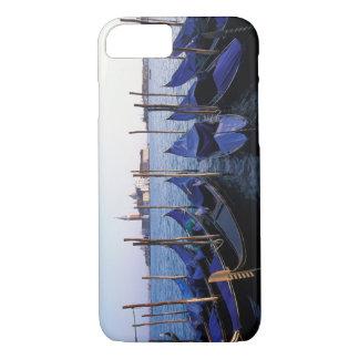 Coque iPhone 8/7 L'Italie, la Vénétie, Venise, rangée des gondoles