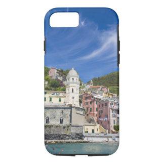 Coque iPhone 8/7 L'Italie, le Cinque Terre, le Vernazza, le port et
