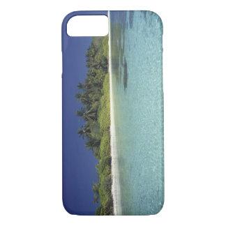 Coque iPhone 8/7 L'Océan Indien, îles Maldives. (M.)