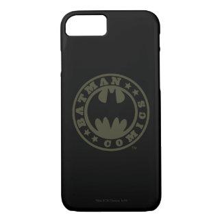 Coque iPhone 8/7 Logo de bandes dessinées du symbole | de Batman