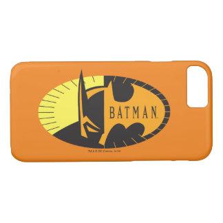 Coque iPhone 8/7 Logo de silhouette du symbole | de Batman