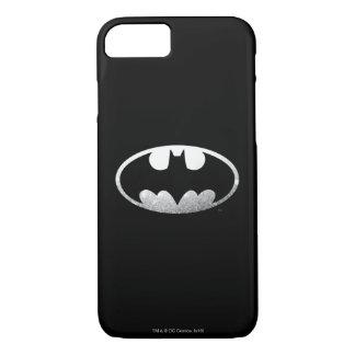 Coque iPhone 8/7 Logo grenu du symbole | de Batman