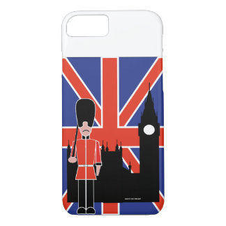 COQUE iPhone 8/7 LONDRES UNION JACK BIG BEN