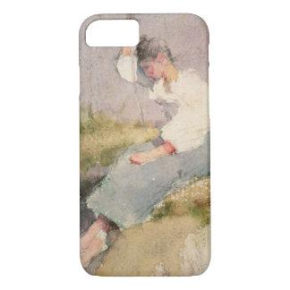 Coque iPhone 8/7 Louise, une fille bretonne (la semaine sur le