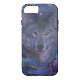 Coque iPhone 8/7 Loup - chef du paquet