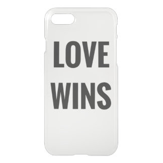 Coque iPhone 8/7 Love wins