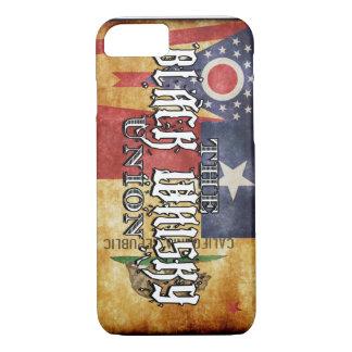 Coque iPhone 8/7 L'union noire de whiskey - trois états