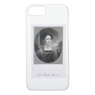 Coque iPhone 8/7 Lydia Huntley Sigourney (1791-1865), gravé par B