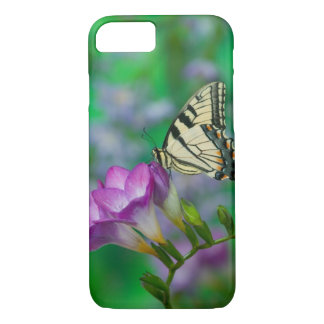 Coque iPhone 8/7 Machaon oriental de tigre sur Fresia - Sammamish