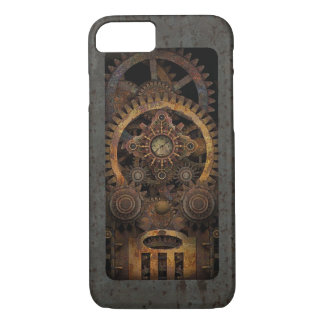 Coque iPhone 8/7 Machine infernale #2B de Steampunk