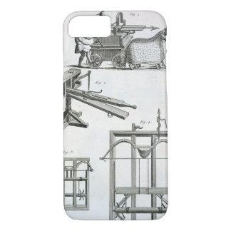 Coque iPhone 8/7 Machines ballistiques romaines, du 'Encyclopedie