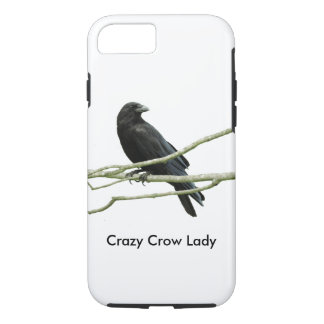 Coque iPhone 8/7 Madame folle de corneille