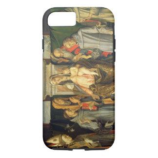 Coque iPhone 8/7 Madonna a couronné, 1480 (l'huile sur le panneau)