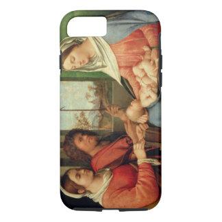Coque iPhone 8/7 Madonna et enfant avec les saints 2