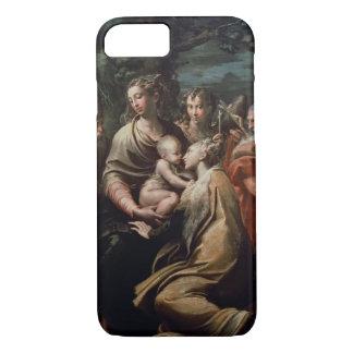 Coque iPhone 8/7 Madonna et enfant avec les saints, c.1529 (huile