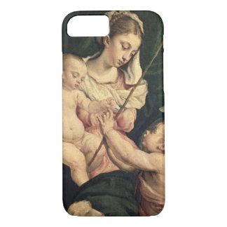 Coque iPhone 8/7 Madonna et enfant avec St John, c.1570 (huile