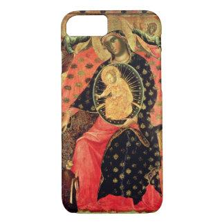Coque iPhone 8/7 Madonna et enfant couronnés avec deux personnes