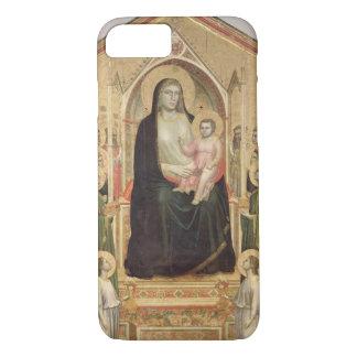 Coque iPhone 8/7 Madonna et enfant couronnés, c.1300-03 (PRE-restor