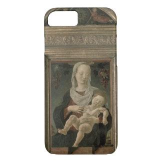 Coque iPhone 8/7 Madonna et enfant (huile sur le panneau)