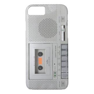 Coque iPhone 8/7 Magnétophone à cassettes vintage