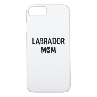 Coque iPhone 8/7 Maman de Labrador