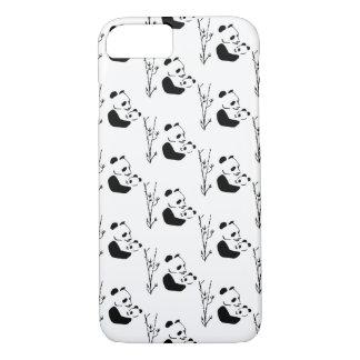 Coque iPhone 8/7 MAMAN PANDA doux, mignon et adorable