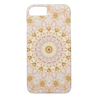 Coque iPhone 8/7 Mandala assez rose et jaune