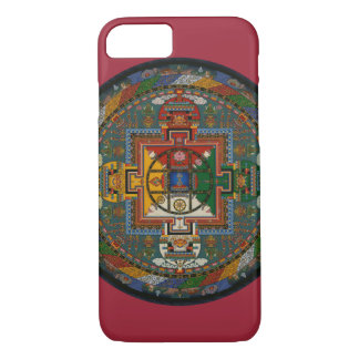 Coque iPhone 8/7 Mandala tibétain (Yamantaka)