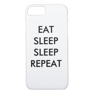 Coque iPhone 8/7 mangez la caisse de téléphone de l'iphone 6/s de