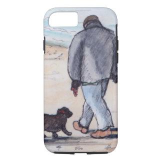 Coque iPhone 8/7 Marchant le chien - 05