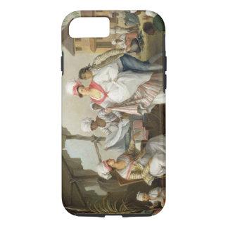 Coque iPhone 8/7 Marché de toile, Roseau, Dominique, c.1780