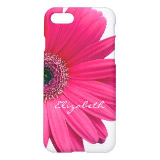 Coque iPhone 8/7 Marguerite de Gerbera de Gerber de roses indien
