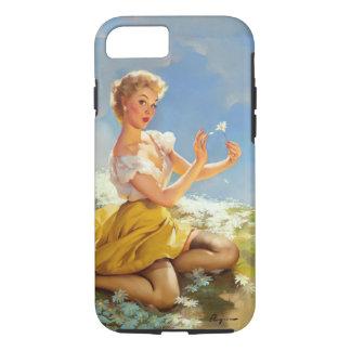 Coque iPhone 8/7 Marguerites de pin-up