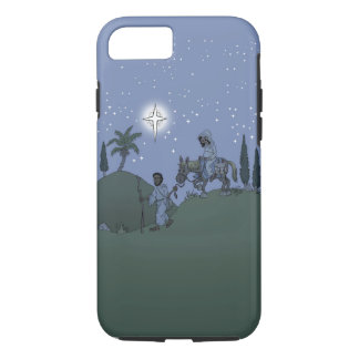 Coque iPhone 8/7 Mary et Joseph, conception de Noël