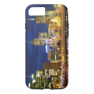 Coque iPhone 8/7 Melbourne, Australie. Une vue de nuit des 2