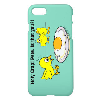 Coque iPhone 8/7 Merde sainte ! Humour de Peter