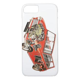 Coque iPhone 8/7 Mini cas classique de téléphone