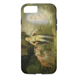 """Coque iPhone 8/7 Miranda, Prospero et Ariel, """"de la tempête"""" par"""