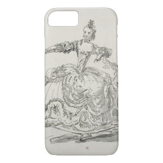 Coque iPhone 8/7 Mlle Puvigne comme statue vivante, dans Pigmalion,