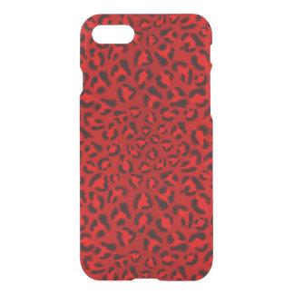Coque iPhone 8/7 Modèle rose de texture de léopard
