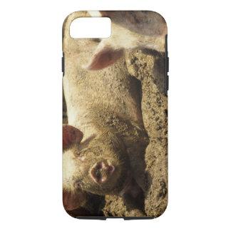 Coque iPhone 8/7 MOIS : Chambre Genevieve, ferme de porc
