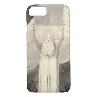 Coque iPhone 8/7 Moïse recevant la loi, c.1780 (brosse et noir i
