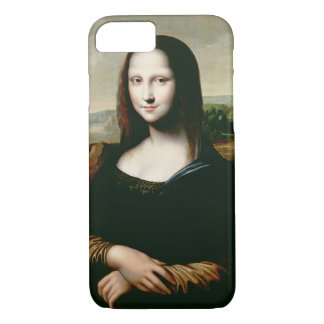 Coque iPhone 8/7 Mona Lisa, copie de la peinture par Leonardo DA
