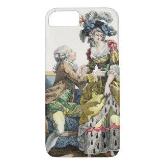 Coque iPhone 8/7 Monsieur élégant proposant à Madame dans un